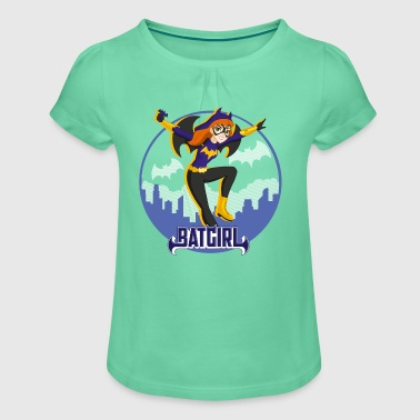 DC Super Hero Girls Batgirl In Gotham - Mädchen-T-Shirt mit Raffungen