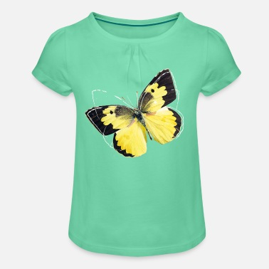 fc2b4d547d1105 Animal Planet Colourful Butterfly And Lineart - Girls' ...