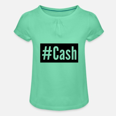 Cash Cash - Girls' Ruffle T-Shirt