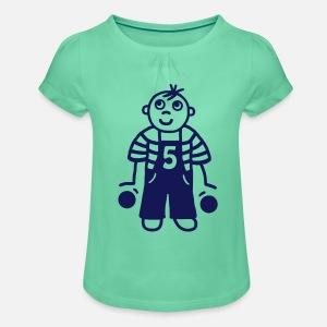Girls Ruffle T Shirt