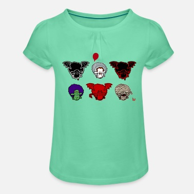 Jeeper Sheepers Creepers - Girls' Ruffle T-Shirt