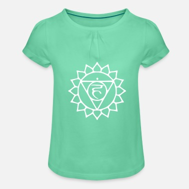 Throat Throat chakra - Girls' Ruffle T-Shirt