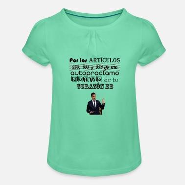 f4398850f1b41 T-shirt à fronces Fille