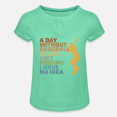 Toddler//Kids Ruffle T-Shirt Im Not Crazy My Great-Uncle Had Me Tested