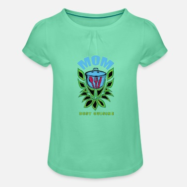 Mother mum maternity gift cousin - Girls' Ruffle T-Shirt