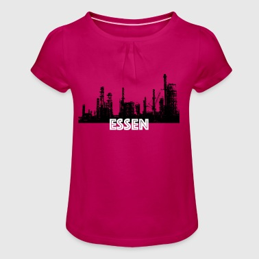 Essen Shirt - T-shirt à fronces au col Fille
