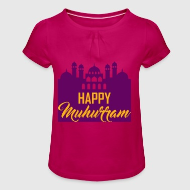 Muharram, gift, Alevis, Shiites, funeral - Girl's T-Shirt with Ruffles