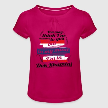 HOLIDAY HOME ROOTS TRAVEL IN Thailand Dok Khamt - Girl's T-Shirt with Ruffles