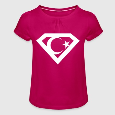 Süper Türk - Girl's T-Shirt with Ruffles