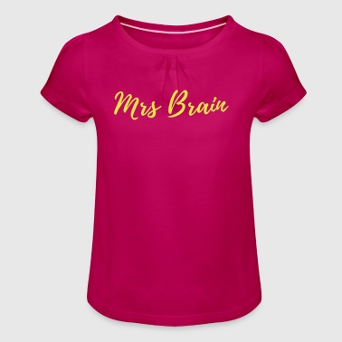 further education - Girl's T-Shirt with Ruffles