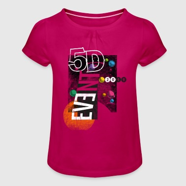 5D Event 2018 - Girl's T-Shirt with Ruffles
