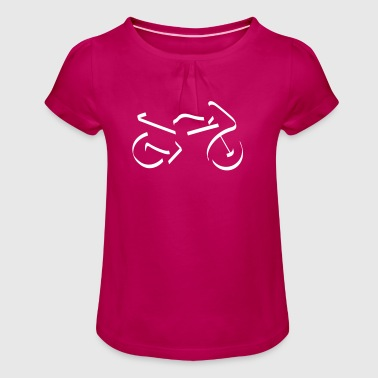 Race Motor - Girl's T-Shirt with Ruffles