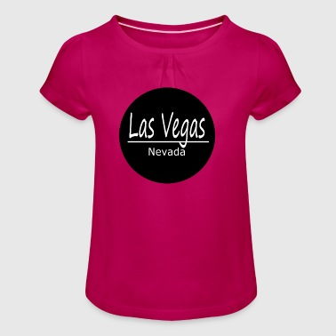 Las vegas - Girl's T-Shirt with Ruffles