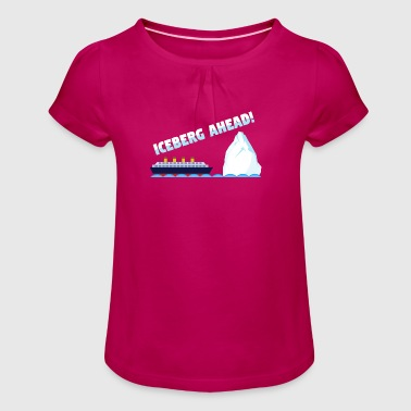 Titanic - Girl's T-Shirt with Ruffles