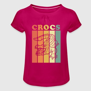 Crocs - Girl's T-Shirt with Ruffles