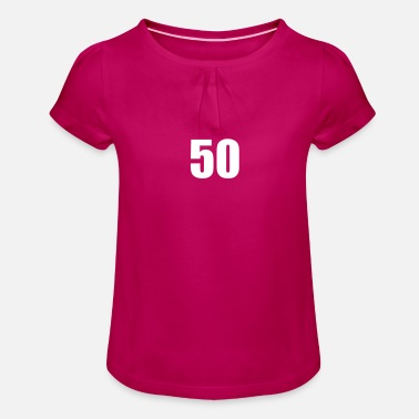 50 50 - Girls' Ruffle T-Shirt