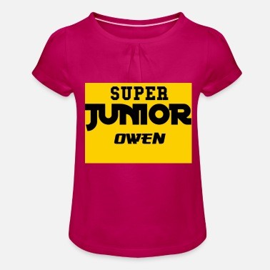 Sjo SJO Big DF Text - Girls' Ruffle T-Shirt