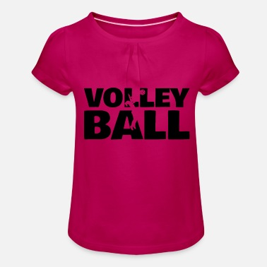 Loisirs Volleyball Sport Loisirs Loisirs - T-shirt à fronces Fille