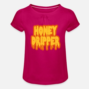 Blaxploitation Honey Dripper - Girls' Ruffle T-Shirt