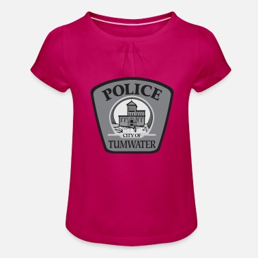 tumwater police department - T-shirt à fronces Fille