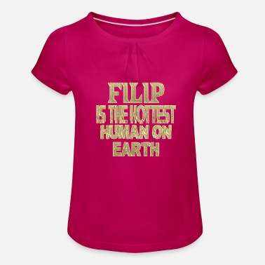 Filip Filip - Girls' Ruffle T-Shirt