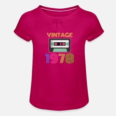 1978 1978 - Girls' Ruffle T-Shirt