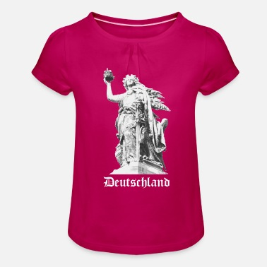 Germania Germany Germania Germany - Girls' Ruffle T-Shirt