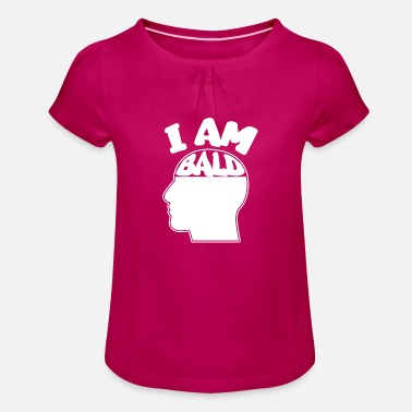 Bald Head bald head - Girls' Ruffle T-Shirt