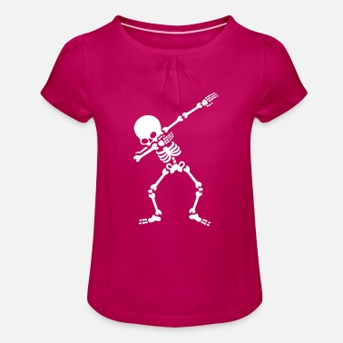 Dab Skeletton Dabbing skeleton (Dab) - T-shirt à fronces Fille