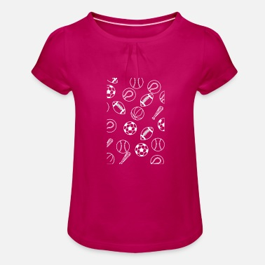 Sport De Balle sports de balle - T-shirt à fronces Fille