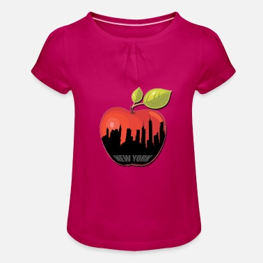 Big Apple BIG APPLE - Girls' Ruffle T-Shirt