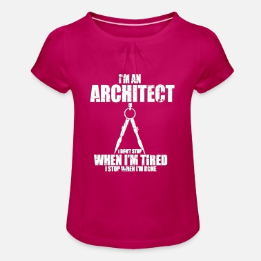 Blueprint Architect blueprint - Girls' Ruffle T-Shirt