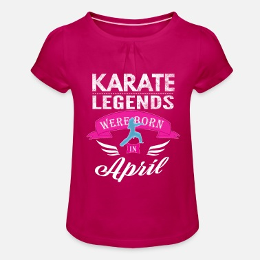 Karaté Légendes du Karaté April Girls - T-shirt à fronces Fille