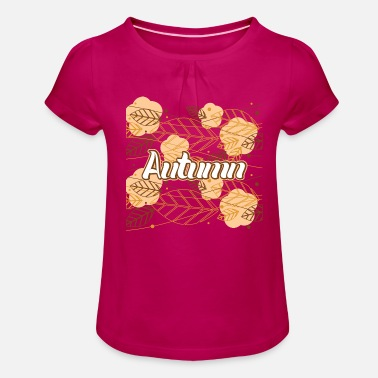 Autumn - Girls' Ruffle T-Shirt