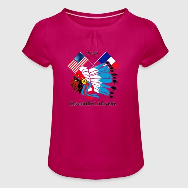 LAFAYETTE_1712_MP - Girl's T-shirt with Ruffles
