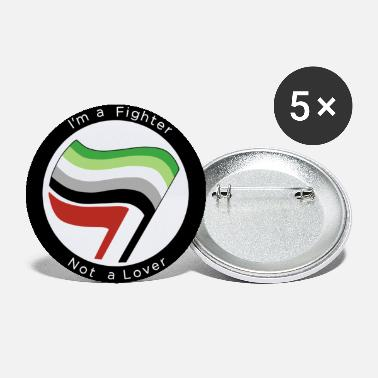 Antifa Aromantic Antifa - Small Buttons