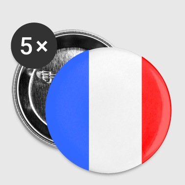 Drapeau francais - Badge petit 25 mm