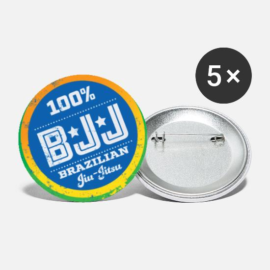 Mma Buttons - Brazilian jiu-jitsu - Small Buttons white