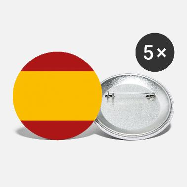 Spanish SPANISH FLAG - Small Buttons