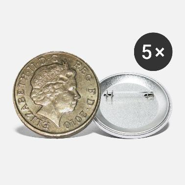One Pound - Small Buttons