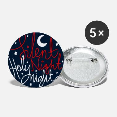 Night silent night holy night - Small Buttons