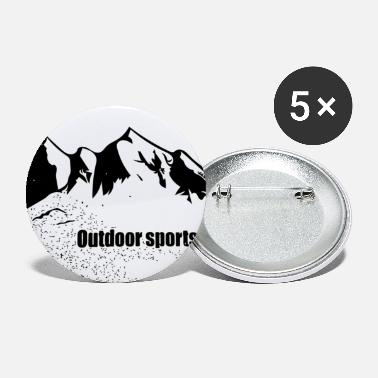 Mountain Sports Outdoor mountain sports - Small Buttons