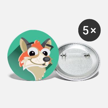 Fox - Small Buttons