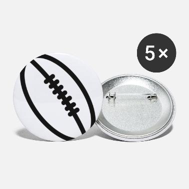 Christmas Present Rugby team football fan rugby team american football - Small Buttons