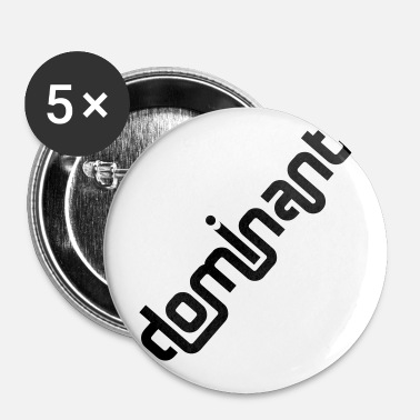 dominant - Buttons klein 25 mm (5er Pack)