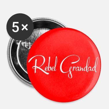 Red Circle - Buttons small 25 mm