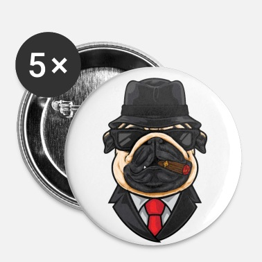 Mafia Mafia Dog - Badge petit 25 mm