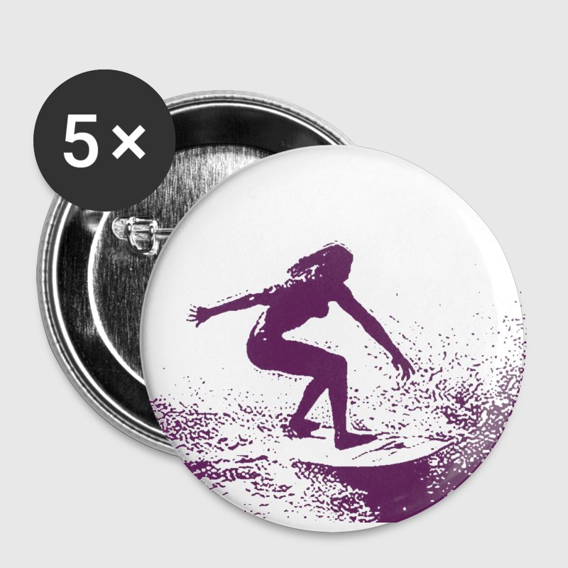 surfergirl - Buttons small 25 mm