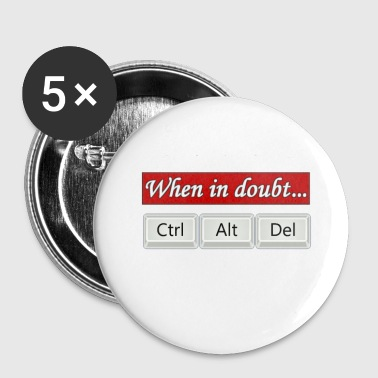 when_in_doubt - Buttons klein 25 mm