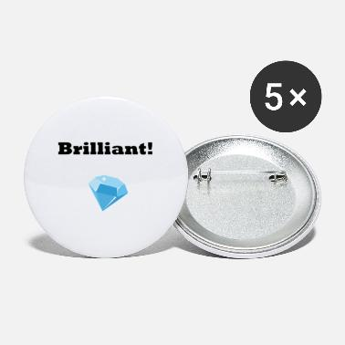 Brilliant Brilliant - Buttons klein